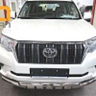 "Защита ""Can Otomotiv"" переднего бампера (Shark) d76/76 для Toyota Land Cruiser Prado 150 2й (кроме Style)2017-2020. Артикул TOC5.33.3386"