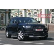 "Защита ""Союз-96"" переднего бампера d76 для Audi Q7 I 2007-2014. Артикул AUDQ.48.0335"