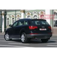 """Защита """"Союз-96"""" задняя труба d60 для Audi Q7 I 2007-2014. Артикул AUDQ.75.0343"""