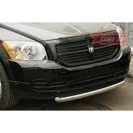 "Защита ""Союз-96"" переднего бампера d60 (труба) для Dodge Caliber 2006-2012. Артикул DODG.48.0431"