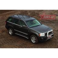"""Кенгурятник """"Союз-96"""" мини d76 высокий для Jeep Grand Cherokee WK 2005-2010. Артикул JEEP.55.0281"""