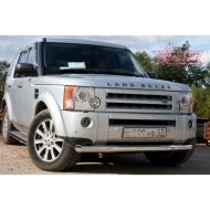 """Защита """"Союз-96"""" переднего бампера d76 (труба) для Land Rover Discovery III 2005-2009. Артикул LRDV.48.0246"""