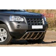 """Кенгурятник """"Союз-96"""" мини d42 с элементами из профиля для Land Rover Freelander II 2007-2010. Артикул LRFR.57.1196"""