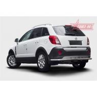 "Защита ""Союз-96"" задняя d60 Premium для Opel Antara 2012-2020. Артикул OANT.75.1549"