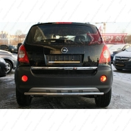 "Защита ""Союз-96"" заднего бампера d42 для Opel Antara 2006-2011. Артикул OPAN.75.0590"