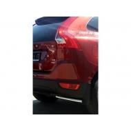 """Защита """"Союз-96"""" задняя уголки d42 для Volvo XC-60 2008-2017. Артикул VXC6.76.0844"""
