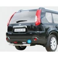 """Защита """"Союз-96"""" задняя ступень d76 для Nissan X-Trail T31 2011-2014 (лок.сборка С-Пб). Артикул NXTR.75.1295"""