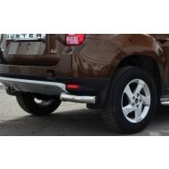 "Защита ""Союз-96"" задняя уголки d76 для Renault Duster 4WD 2012-2020. Артикул RDUS.76.1448"