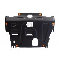 """Защита """"АВС-Дизайн"""" для картера и КПП Ford S-Max 2006-2020. Артикул: 03.241.C2"""