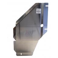 "Защита алюминиевая ""АВС-Дизайн"" для АКПП и РК Chevrolet TrailBlazer II 2013-2020. Артикул: 04.18ABC"