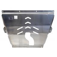 "Защита алюминиевая ""АВС-Дизайн"" для картера Jeep Cherokee KL АКПП 2014-2020. Артикул: 04.24ABC"
