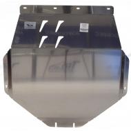 "Защита алюминиевая ""АВС-Дизайн"" для картера двигателя и КПП Acura MDX III 2014-2020. Артикул: 09.25ABC"