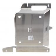 """Защита алюминиевая """"АВС-Дизайн"""" для абсорбера топливной системы Hyundai Santa Fe III 2012-2017. Артикул: 10.17ABC"""