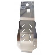 """Защита алюминиевая """"АВС-Дизайн"""" для АКПП Infiniti M 37 4х2; 4х4 2010-2020. Артикул: 15.05ABC"""