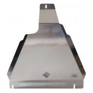 """Защита алюминиевая """"АВС-Дизайн"""" для РК Infiniti QX56 III 2010-2020. Артикул: 15.11ABC"""