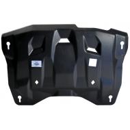 """Защита композитная """"АВС-Дизайн"""" для картера и КПП Nissan Teana J32 2/4WD 2008-2014. Артикул: 15.21k"""