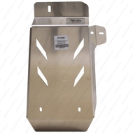 """Защита алюминиевая """"АВС-Дизайн"""" для редуктора Nissan Terranо III 4WD 2014-2020. Артикул: 28.03ABC"""