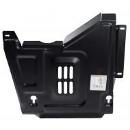 "Защита ""АВС-Дизайн"" для кислородного датчика и катализатора Renault Duster 4WD 2015-2020. Артикул: 33.822.C2"