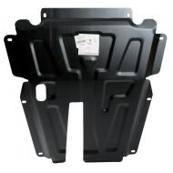 "Защита ""АВС-Дизайн"" для картера и КПП Renault Logan I 2004-2014. Артикул: 33.825.C2"