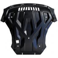 """Защита композитная """"АВС-Дизайн"""" для картера и КПП BMW X6 M F15 2013-2020. Артикул: 34.10k"""