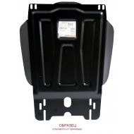 "Защита ""АВС-Дизайн"" для топливного бака Renault Duster 4WD 2011-2014. Артикул: 33.808.C2"