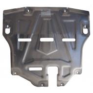 """Защита алюминиевая """"Alfeco"""" для картера и КПП Hyundai Tucson III 2015-2020. Артикул: ALF.10.37 AL4"""