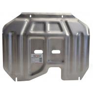 """Защита алюминиевая """"Alfeco"""" для картера и КПП (малая) Hyundai ix35 2010-2015. Артикул: ALF.11.24 AL4"""