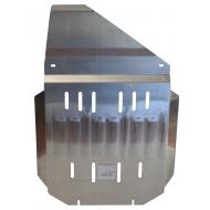 """Защита алюминиевая """"Alfeco"""" для КПП Cadillac Escalade 2006-2014. Артикул: ALF.37.02 AL5"""