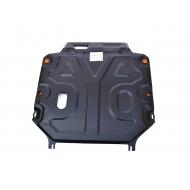 "Защита ""Alfeco"" для картера и КПП Chevrolet Captiva 2012-2014. Артикул: ALF.03.16 st"