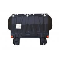 """Защита """"Alfeco"""" для картера и КПП Ford Focus III 2011-2020. Артикул: ALF.07.260st"""