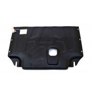 """Защита """"Alfeco"""" для картера и КПП Ford Tourneo Custom FWD 2013-2020. Артикул: ALF.07.40st"""