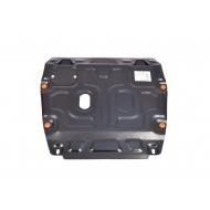 """Защита """"Alfeco"""" для картера и КПП Honda Civic IX седан 2012-2015. Артикул: ALF.09.25 st"""