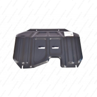 """Защита """"Alfeco"""" для картера и КПП (малая) Hyundai ix35 2010-2015. Артикул: ALF.11.24st"""
