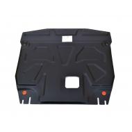"""Защита """"Alfeco"""" для картера и КПП Kia Sorento III Prime 2014-2017. Артикул: ALF.11.31 st"""