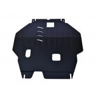 """Защита """"Alfeco"""" для картера и КПП Mitsubishi Outlander III V-3.0 2012-2020. Артикул: ALF.14.35st"""