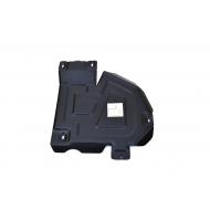 """Защита """"Alfeco"""" для топливного бака Renault Duster I 4WD 2011-2015. Артикул: ALF.18.05 st"""