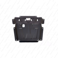 "Защита ""Alfeco"" для картера и КПП Nissan Almera G15 2012-2020. Артикул: ALF.28.15 st"
