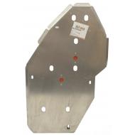 "Защита алюминиевая ""Alfeco"" для топливного бака Jeep Grand Cherokee WK2 2013-2020. Артикул: ALF.48.04 AL 5"