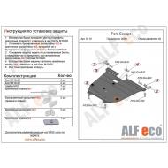 """Защита """"Alfeco"""" для картера и КПП Ford Escape 2008-2012. Артикул: ALF.07.18st"""