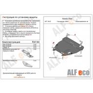 """Защита """"Alfeco"""" для картера и КПП Honda Pilot II 2008-2011. Артикул: ALF.09.07st"""