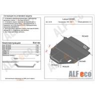 "Защита ""Alfeco"" для картера и КПП Lexus ES 300 1991-1997. Артикул: ALF.24.38st"