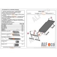 "Защита алюминиевая ""Alfeco"" для АКПП Infiniti G 25 седан 2011-2015. Артикул: ALF.29.12 AL4"