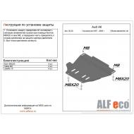 """Защита """"Alfeco"""" для МКПП Audi A6 C5 1997-2004. Артикул: ALF.30.20st"""