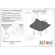 "Защита ""Alfeco"" для картера Chrysler 300C I 2005-2007. Артикул: ALF.33.03st"