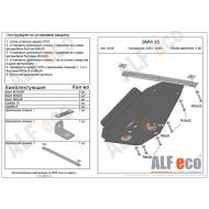 "Защита ""Alfeco"" для АКПП BMW Х5 E53 2003-2006. Артикул: ALF.34.06st"