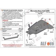 "Защита алюминиевая ""Alfeco"" для КПП Mercedes-Benz CLK-Class W209 2002-2005. Артикул: ALF.36.18 AL5"