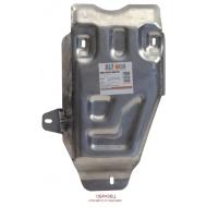 """Защита алюминиевая """"Alfeco"""" для КПП Land Rover Defender 110 2007-2016. Артикул: ALF.38.01 AL4"""