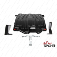 "Защита ""АвтоБРОНЯ"" для картера и КПП Hyundai i30 III 2017-2020. Артикул: 111.02374.3"