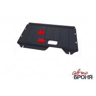 "Защита ""АвтоБРОНЯ"" для картера и КПП Ford Torneo Custom FWD 2013-2020. Артикул: 111.01839.1"
