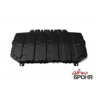 "Защита ""АвтоБРОНЯ"" для картера и КПП Mazda CX-9 2017-2020. Артикул: 111.03825.1"